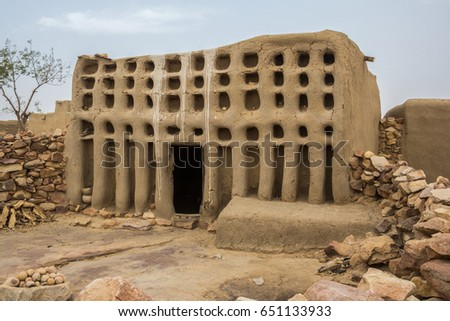 Home of the Sanga Hogon, Dogon Country, Mali