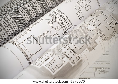Home plan and loan application