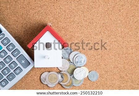Home planning for purchase  property - stock photo