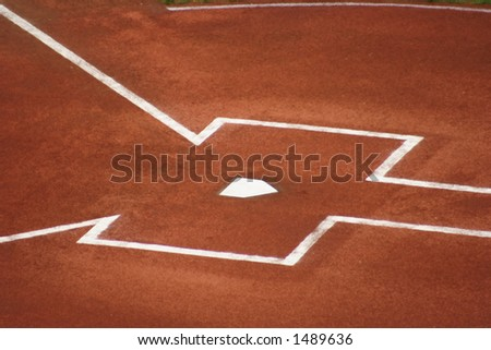 Home Plate Before the Game