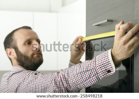 Home repair and improvement. - stock photo