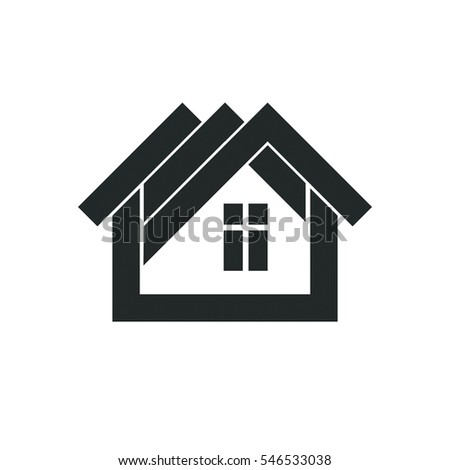 Home icon vector icon four different stock vector for Household design agency
