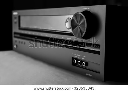 Home-theater amplifier