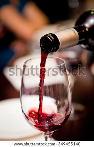 Homeland wine / It is believed that the best wines are grown in France and Italy - stock photo