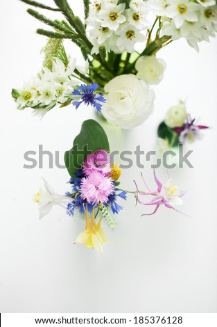 homemade bouquet - stock photo