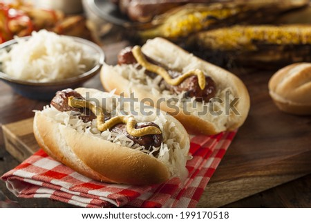 Bratwurst Stock Photos, Royalty-Free Images & Vectors - Shutterstock