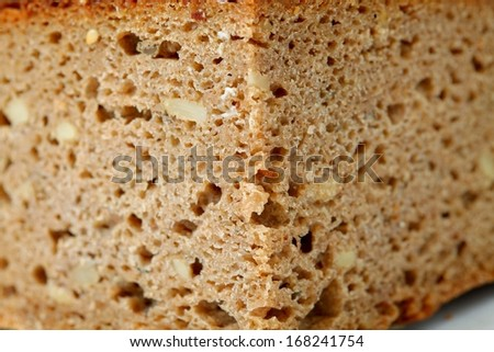 homemade bread fresh cut useful