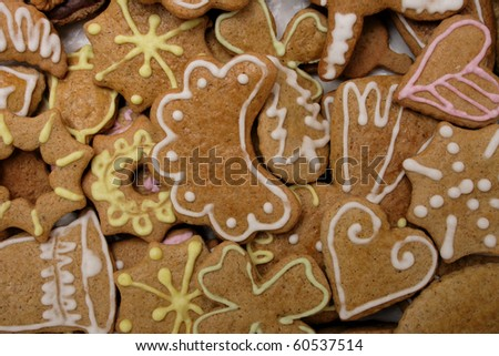 homemade christmas cookies from the czech republic