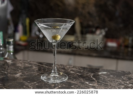 Homemade cocktail - stock photo