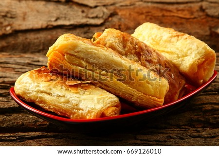 Homemade curry puffs- Traditional recipe.