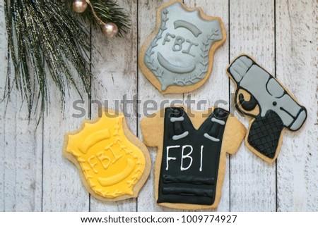 Fbi badge stock images royalty free images vectors - Fbi badge wallpaper ...