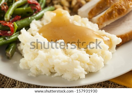 Mash Potato Photos Mashed Potatoes With Gravy