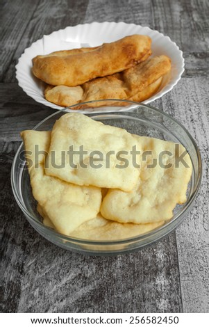 Homemade Panzerotti - stock photo