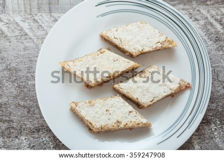 Homemade Sweet Cake - stock photo
