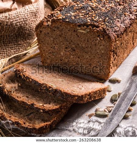 Whole Grain Bread Clipart