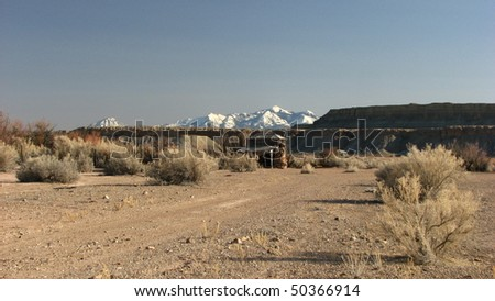 homestead in Utah desert