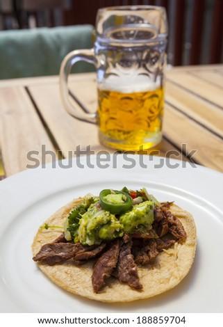 Hommemade Taco  - stock photo