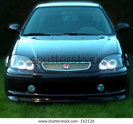 Honda - stock photo