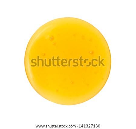 Honey drop - stock photo