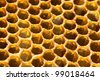 honeycomb candy close-up - stock photo
