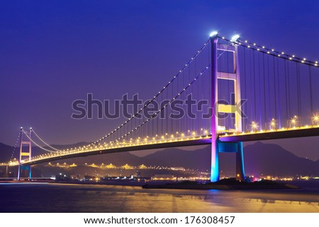 Hong Kong bridge