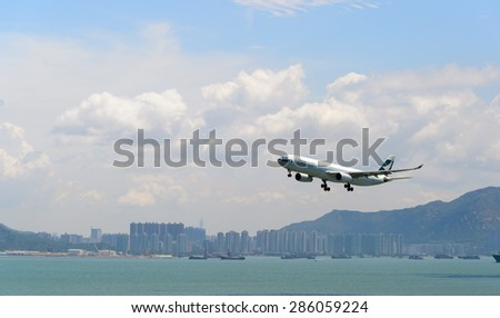 Cathay pacific stock images royalty free images vectors shutterstock - Cathay pacific head office ...