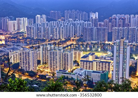 Hong Kong Sha Tin Night