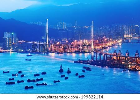 Hong Kong Terminals - stock photo