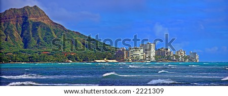 Honolulu - stock photo