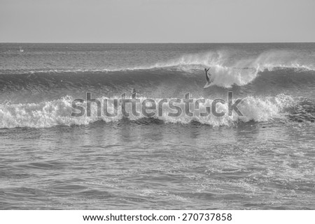 Longboard surfing stock images royalty free images for Number one travel destination