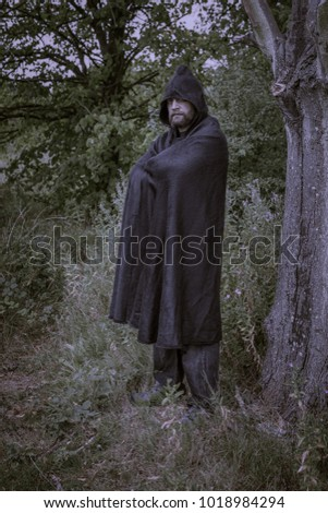 hooded cloak stock images royaltyfree images amp vectors