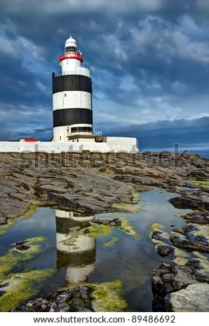 Hook Lighthouse at Hook Head, County Wexford, Ireland