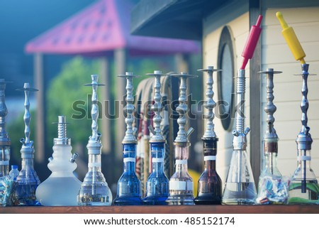 Hookahs are of different shapes and sizes. Toned
