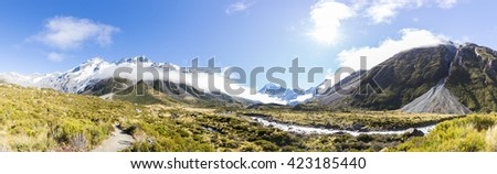 Hooker Valley Panorama