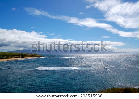 Hookipa Beach Maui - stock photo