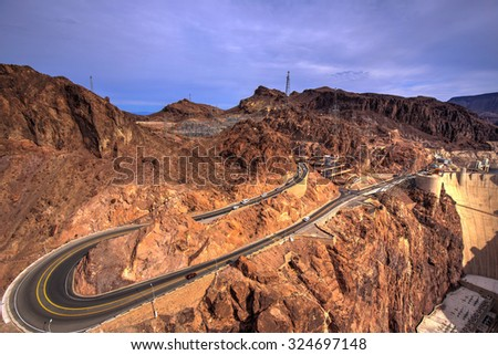 Hoover Dam Hairpin