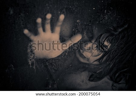 Hopelessness concept abstract creative expression. - stock photo