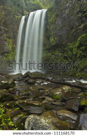Hopetoun Falls Victoria/Otway Ranges/Silky falls - stock photo