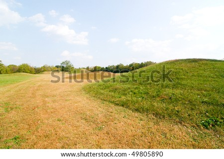 Hopewell Culture National Historical Park native american indian mounds