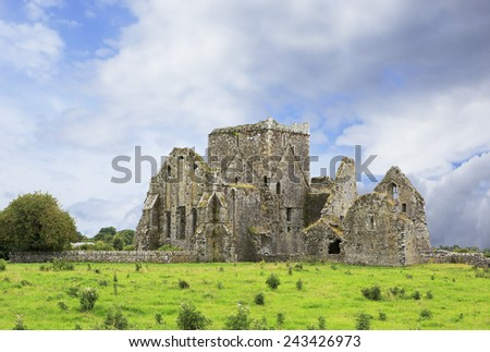Hore Abbey. Historic Landmark located in the city Ballyfowloo. Ireland.