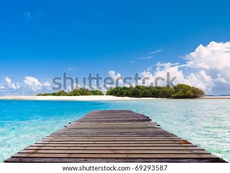 Horizon Sea Landscape - stock photo