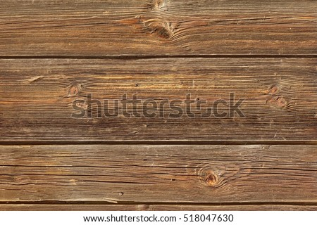 Horizontal Barn Wooden Wall Planking Texture. Reclaimed Old Wood Slats  Rustic Shabby Background. Home
