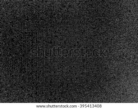 Horizontal black and white space noise background