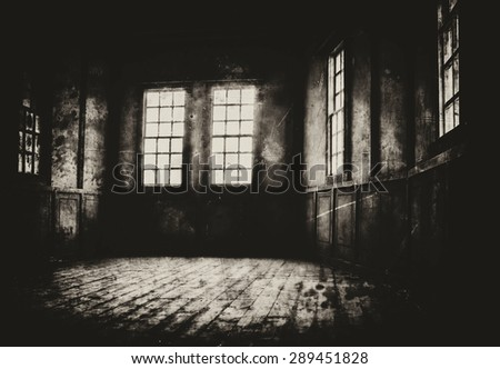 Horizontal dark sepia wild west decoration background backdrop - stock photo