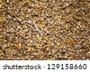 Horizontal image of a pile of dried corn grains - stock photo