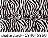 Horizontal striped zebra pattern with curves and lines - stock photo