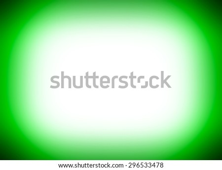 Horizontal vibrant green empty black glowing button abstraction background backdrop - stock photo