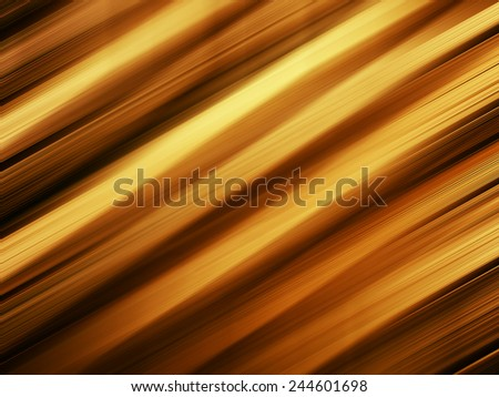 Horizontal vivid orange gold diagonal stripes background - stock photo