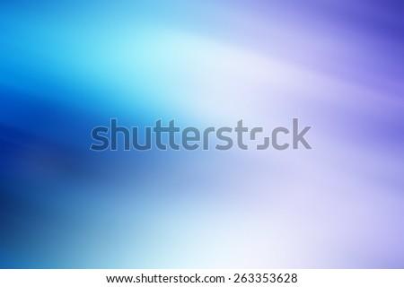 Horizontal vivid purple cyan blur abstraction background backdrop - stock photo