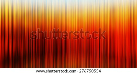Horizontal wide vertical orange vibrant curtains business presentation abstract background backdrop - stock photo